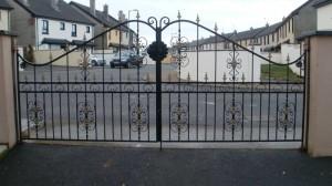 Cork Entrance Gates Galvanised & Powder Coated