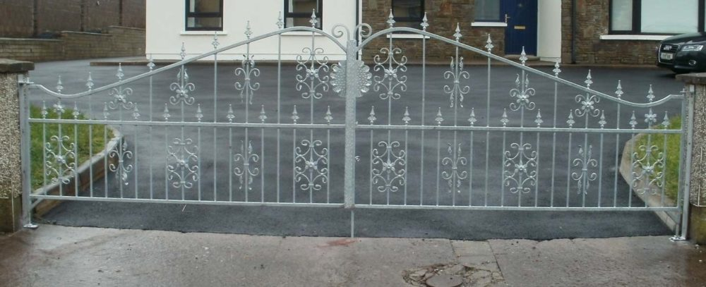 wrought iron driveway gates cork, steel entrance gates cork, wrought iron gates cork, steel gates cork,