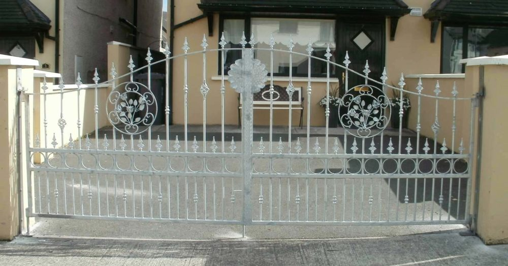 wrought iron entrance gates cork, steel entrance gates cork, steel driveway gates cork, wrougth iron driveway gates cork, cork gates supplier,