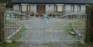 Wrought Iron Entrance Gates Cork, Wrought Iron Driveway Gates Cork, Steel Gates Cork, Wrought Iron Gates Cork,