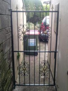 Side Gate, Side Entrance Gate, Wrought Iron Side Gate, Steel Side Gate,