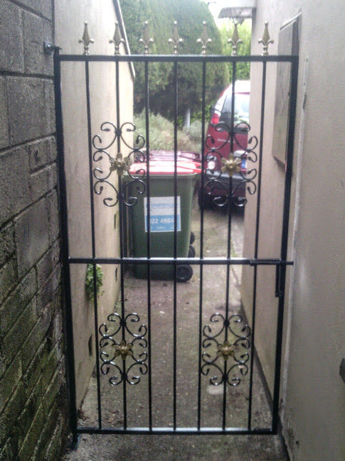 Side Gate, Side Entrance Gate, Wrought Iron Side Gate, Steel Side Gate,