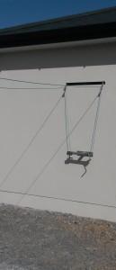 t-bar clothesline cork, washing lines cork, clotheslines in cork,