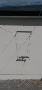 Wall Mounted T Bar Clothesline, wall mounted washing lines, wall mounted clotheslines cork,