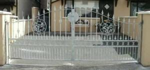 wrought iron entrance gates cork, steel gates cork, driveway gates cork,