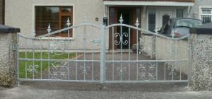 Wrought Iron Front Entance Gates Cork, Steel entrance gates cork, steel drivway gates cork