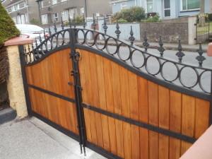 wooden gates cork, teak entrance gates cork, teak driveway gates cork, teak gates cork,