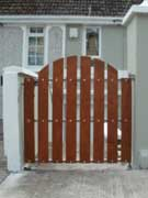 Timber Wicket Gate Cork, Steel Frame with timber gate cork, wrought iron with timber wicket gate, wicket gates cork,