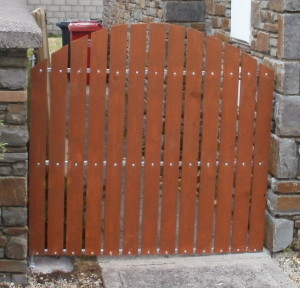Timber Wicket Gate Cork, timber with steel frame wicket gate cork, wicket gates cork,