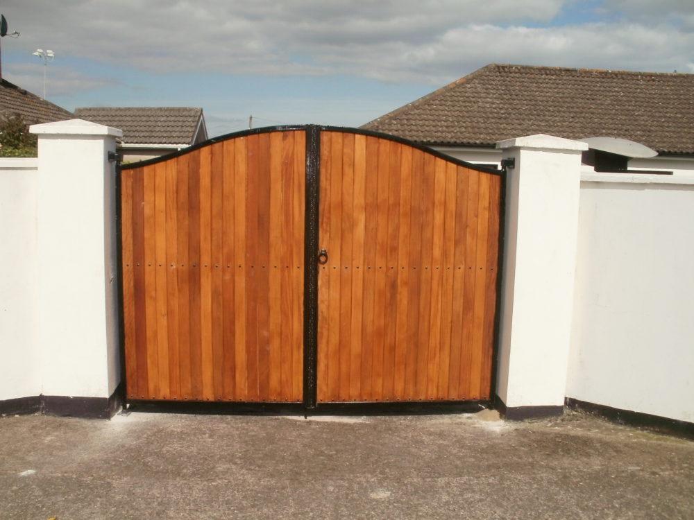 Gates, Teak Entrance Gates, Teak Driveway Gates, Teak Gates Cork,