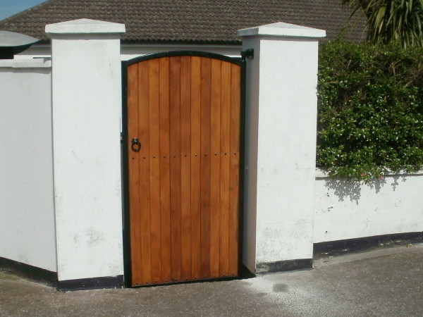 Cork Gates Supplier, Teak Side Entrance Gate cork, Teak Gates Cork,