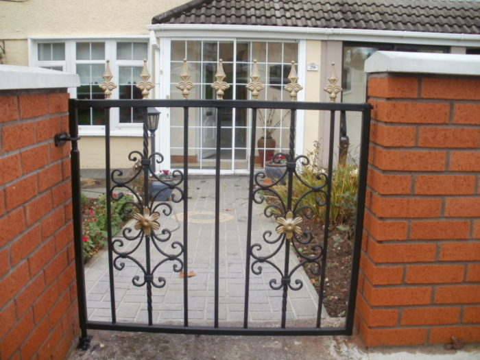 Wicket Gate, Wrought Iron Wicket Gate, Steel Wicket Gate, Wicket Gates in Cork,