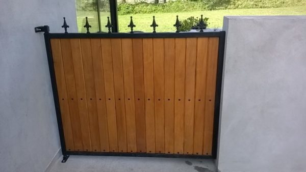 Garden Gates, Teak Side Gate, Teak Wicket Gate. Gates in Cork,