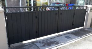 PVC BOARD GATES, COMPOSITE BOARD GATES, COMPOSITE BOARD BOARD ENTRANCE GATES