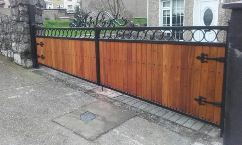 Teak Entrance Gates, Teak Driveway Gates, Teak Gates Cork,