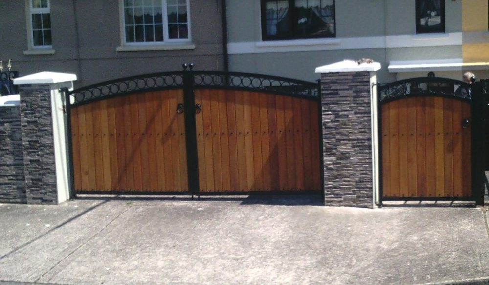 Teak Entrance Gates Cork, Teak Driveway Gates Cork, Teak Gates Cork, Teak Wicket Gates,