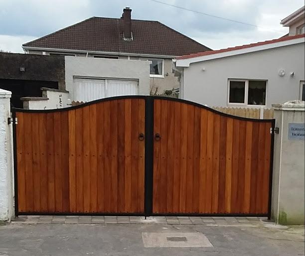 Teak Entrance Gates, Teak Driveway Gates, Teak Gates Cork, Teak Gates