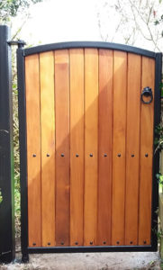 side gate cork, side entrance gate cork, teak side gates cork