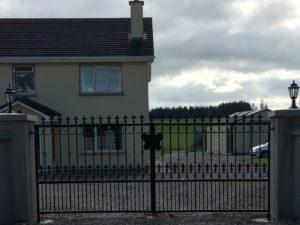 entrance gates in cork,wrought iron entrance gates, wrought iron driveway gates