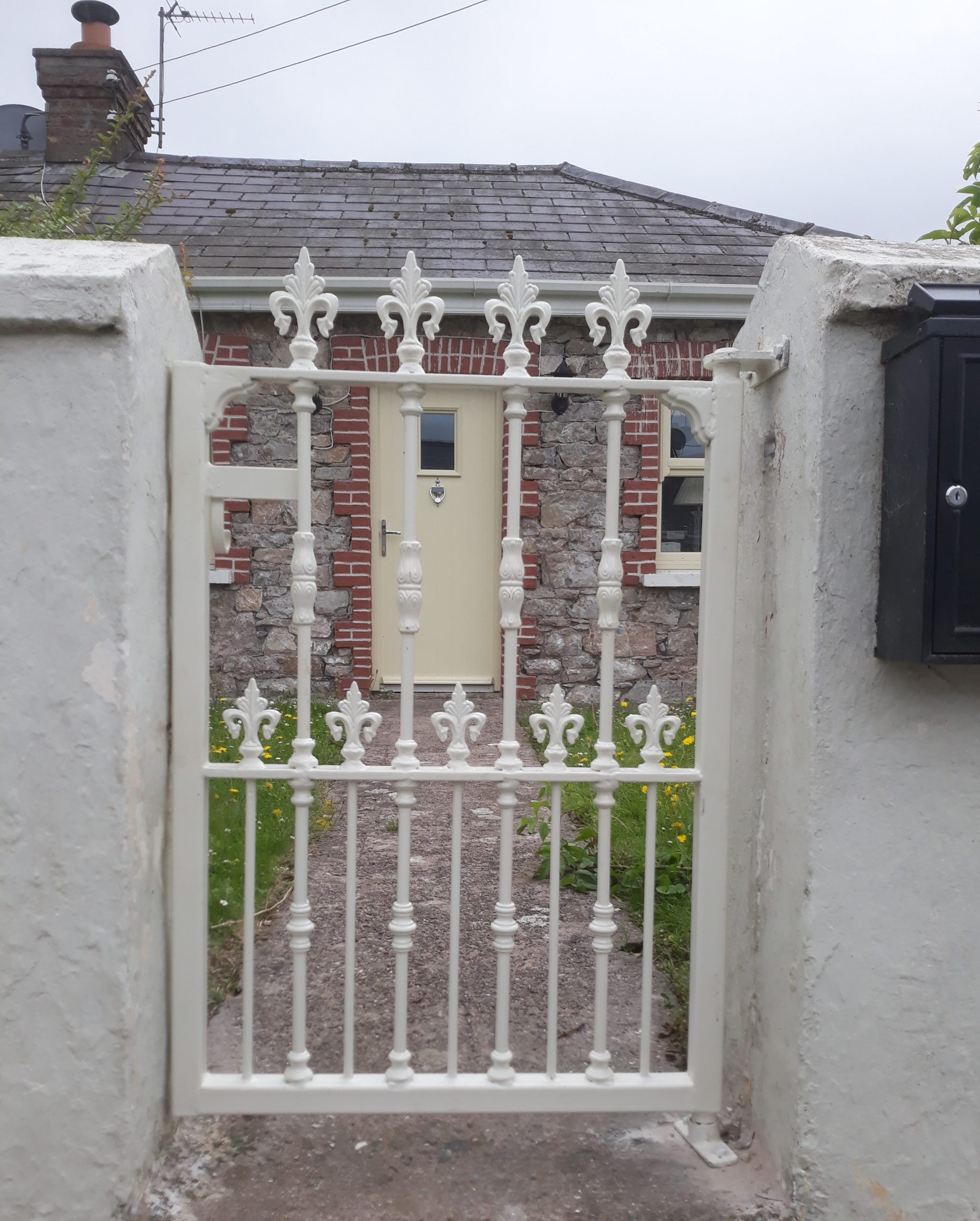 Wrought Iron Wicket Gate