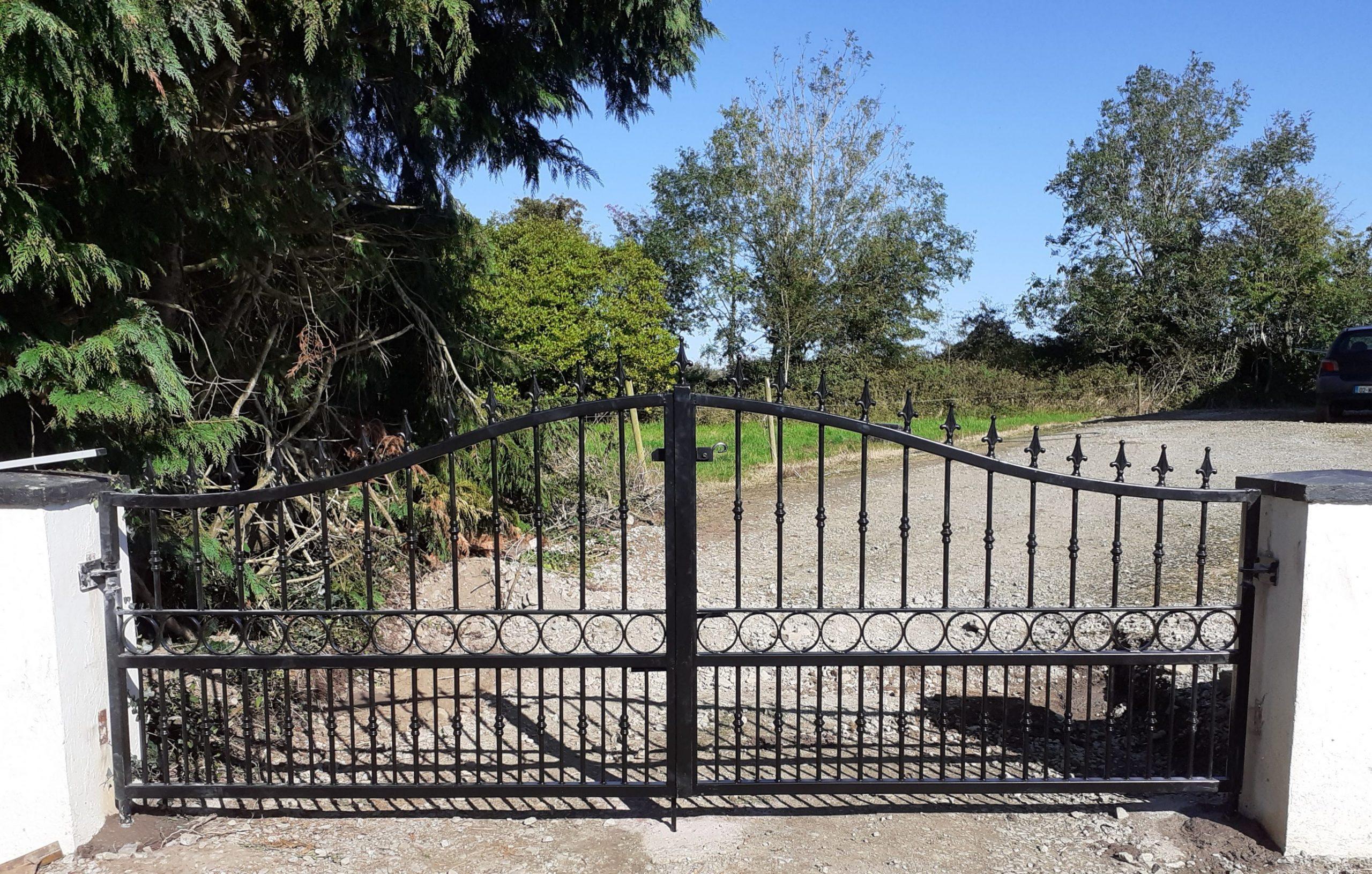 Entrance Gates, Wrought Iron Entrance Gates, Gates